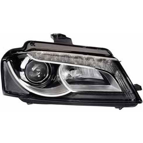 AUDI A3 '08-'12 Bi-XENON HEADLIGHT WITH LED DRL - RIGHT