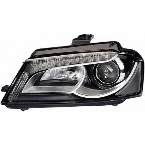 AUDI A3 '08-'12 Bi-XENON HEADLIGHT WITH LED DRL - LEFT