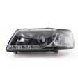 AUDI A3 8L '96-'00 LED DRL LOOK HEADLIGHTS - BLACK