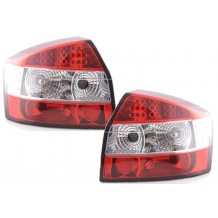 AUDI A4 '00-'04 LED - RED/CLEAR