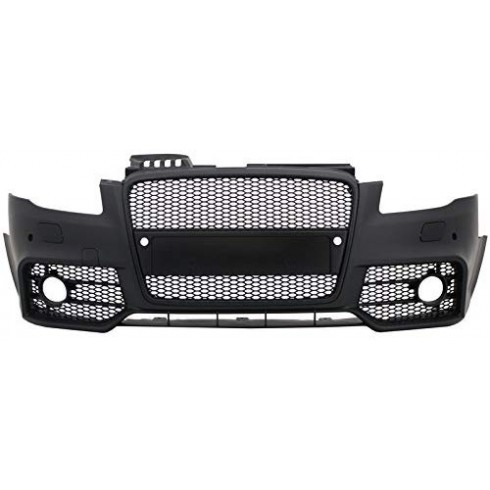 AUDI A4 04-07 B7 FRONT LOOK RS4 FRONT Bumper ( BLACK MASK) ABS PLASTIC