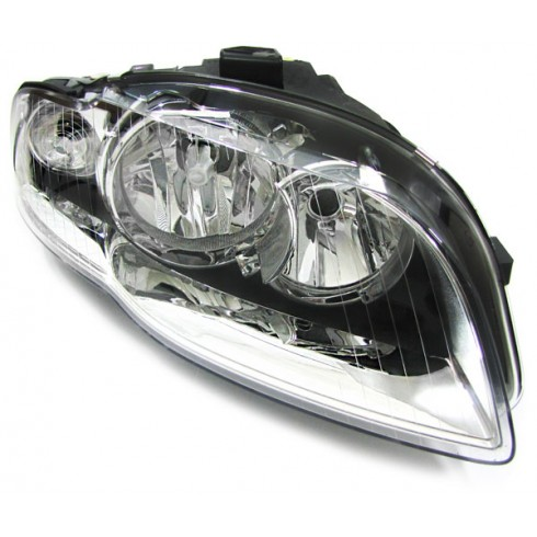 AUDI A4 04-07 HEADLIGHT RIGHT