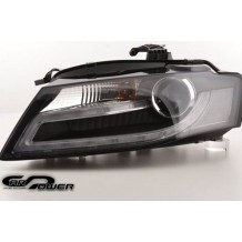 AUDI A4 '07-'11 DRL HEADLIGHTS - BLACK