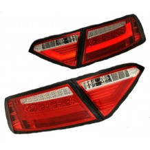AUDI A5 07-09 LED LIGHTBAR TAIL LIGHTS - RED/CLEAR