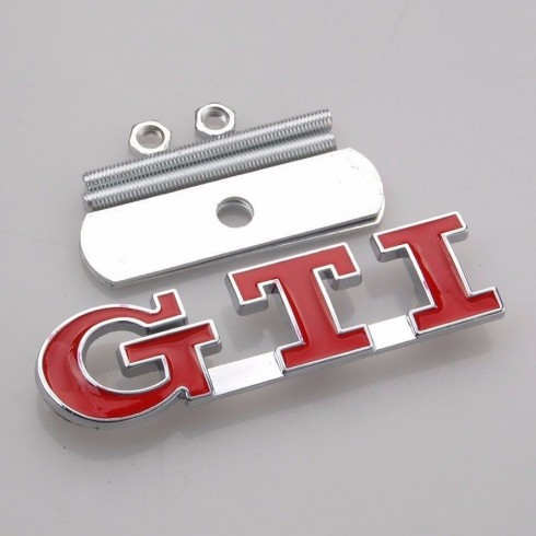 GTI GRILL BADGE - RED
