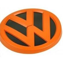 VW GOLF 7 REAR EMBLEM - ORANGE