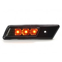 BMW E36/E34 '91-'96 LED SIDEMARKERS - BLACK