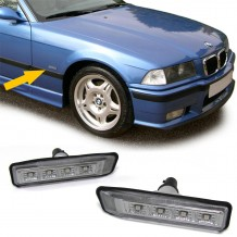 BMW E36 '96-'00 & X5 E53 '00-'07 LED  SIDEMARKERS - SMOKE