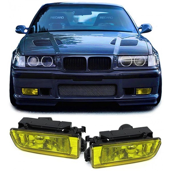Bmw Z3 Yellow: BMW E36 FOG LIGHTS