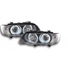 BMW X5 (E53) '99-'03 LED ANGEL EYES - BLACK