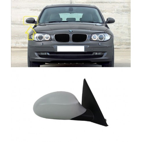BMW 1 - SERIES 2004 - 2009  MIRROR ELECTRIC HEATED  RIGHT