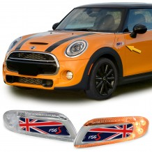 MINI COOPER F56 '13-ON UNION JACK FLAG LED SIDEMARKERS
