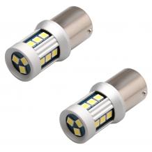 BA15D (P21/5W) LED BULBS CANBUS