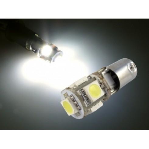 BA9S LED BULB 5 SMD - WHITE