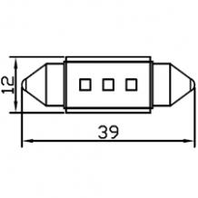 FESTOON 39mm