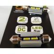 FESTOON 36mm LED SMD CAN BUS BULBS - 6000K
