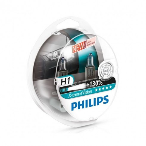 H1 12V/55W PHILIPS EXTREME VISION