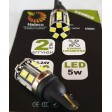 T10 CAN BUS LED BULB 15 SMD 5W 6000K