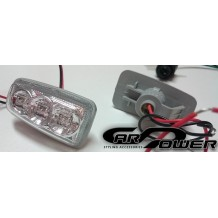 CITROEN SAXO '96-'04 LED SIDEMARKERS - CHROME