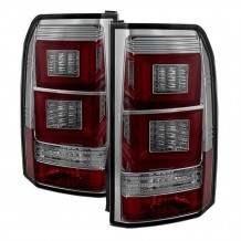 DISCOVERY '04-'13 LED TAIL LIGHTS -SMOKE