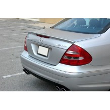 MERCEDES E-CLASS W211 '02-ON REAR LIP SPOILER