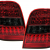 MERCEDES ML W164 '05-ON LED TAIL LIGHTS - RED/SMOKE