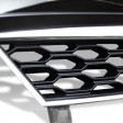 OPEL ASTRA H '05-'09 BADGELESS GRILL HONEYCOMB CHROME