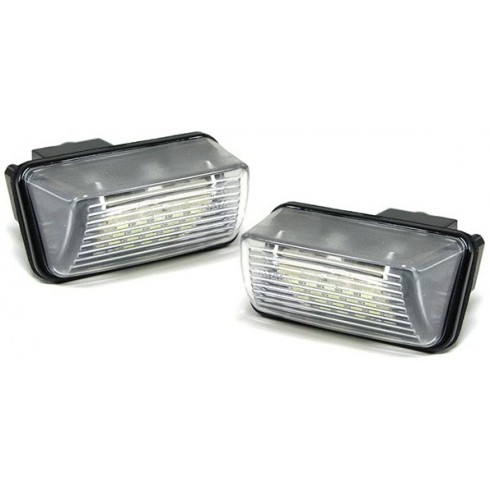 PEUGEOT 206 '98-'06  LED LISENCE PLATE LIGHTS