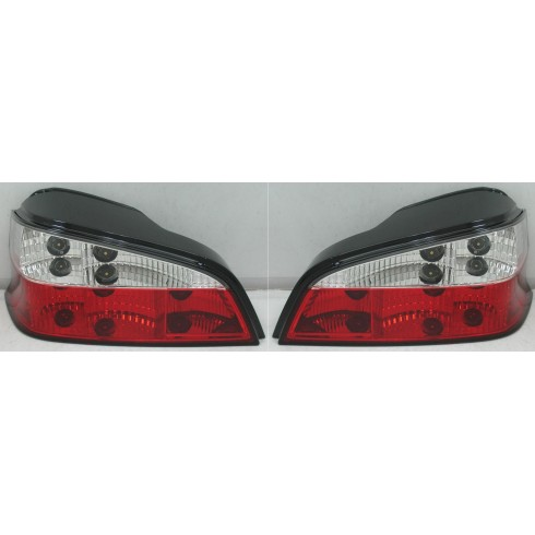PEUGEOT 106 '95-'05 RED/CLEAR