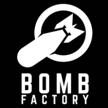 """BOMB FACTORY"" - STICKER"