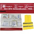 FIRST AID KIT + TRIANGLE + VEST - 3 IN 1 COMBO BOX
