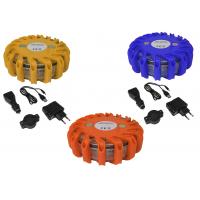 LED EMERGENCY  WARNING LIGHT -ROUND +CABLE