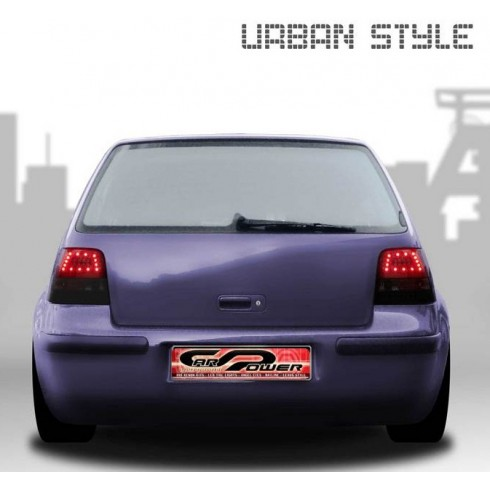 VW GOLF 4 '97-'03  - URBAN LED SMOKE/BLACK
