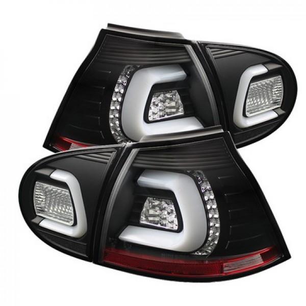 VW GOLF 5 '03-'08-LED LIGHTBAR-WHITEBAR - SMOKE/BLACK