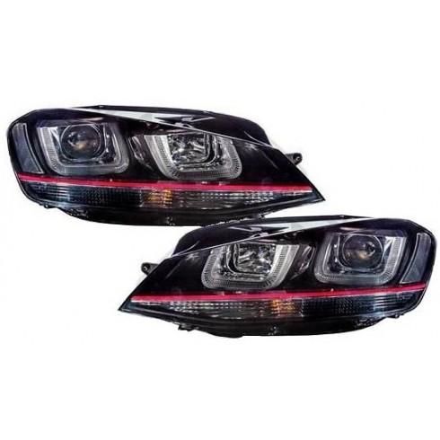 VW GOLF 7 '12-ON 3D DAYLIGHT - BLACK