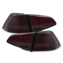 VW GOLF 7 '12-ON  - LED  RED/SMOKE
