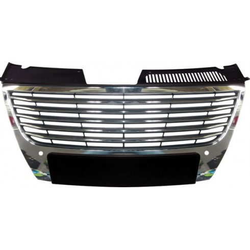 VW PASSAT 3C '05-'08  BADGELESS GRILL - CHROME