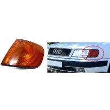 AUDI 100 1990-1994 INDICATOR YELLOW - DRIVER SIDE