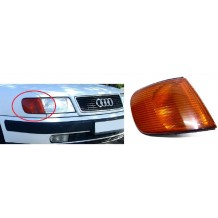 AUDI 100 1990-1994 INDICATOR YELLOW - PASSENGER SIDE