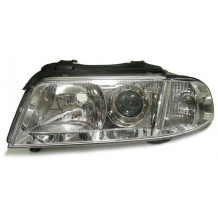 AUDI A4 '99-'01 OEM LOOK HEADLIGHT-CHROME LEFT