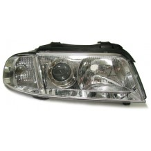 AUDI A4 '99-'01 OEM LOOK HEADLIGHT-CHROME RIGHT