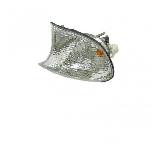 BMW SERIES 3 (E46) COUPE/CABRIO 01-03 FRONT DRIVER SIDE TURN SIGNAL LIGHT WHITE