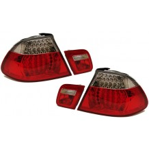 BMW E46 COUPE '99-'03 FULL LED - RED/CLEAR