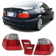 BMW E46 4DOOR  '98-'01 FULL LED - RED/CLEAR