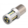 BA15S (P21W) LED BULBS CANBUS - AMBER