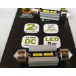 FESTOON 41mm LED SMD CAN BUS BULBS - 6000K
