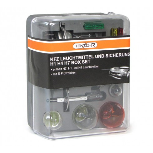 AUTOMOTIVE LIGHT BULBS AND FUSES REPLACEMENT BOX SET