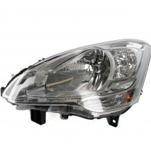 CITROEN BERLINGO 08-12 HEADLIGHT - DRIVER SIDE