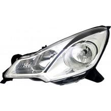 CITROEN DS3 2010-16 HEADLIGHT BLACK DEPO - DRIVER SIDE