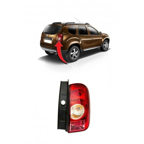 DACIA DUSTER 2010-13 TAILLIGHT - PASSENGER SIDE